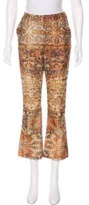 Frame Printed Mid-Rise Corduroy Pants