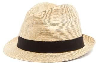 Prada Straw Hat - Mens - Brown