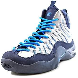 Nike Boys Air Bakin' Basketball Shoes Silver 6Y