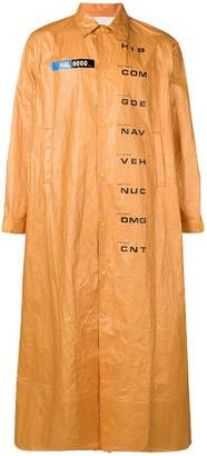 Undercover Computer Malfunction raincoat