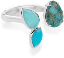 Ippolita 925 Rock Candy® Open Ring with 3-Stone in Turquoise