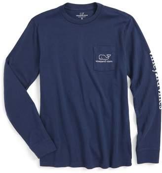 Vineyard Vines Vintage Whale Graphic Long Sleeve T-Shirt
