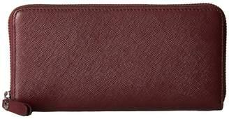 Ecco Iola Large Zip Wallet Wallet Handbags
