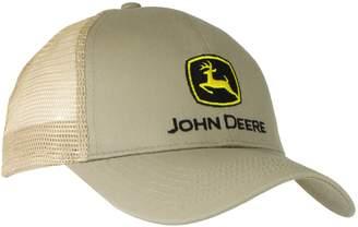 4d10326bfad John Deere Men s Logo Mesh Back Core Baseball Cap