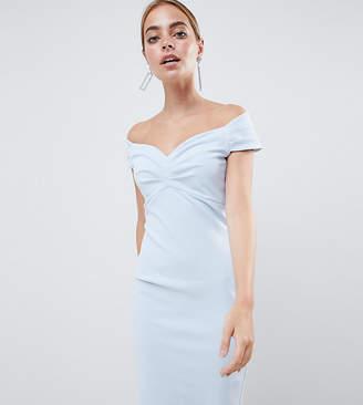 87961765c09 Bardot City Goddess Petite Pencil Midi Dress
