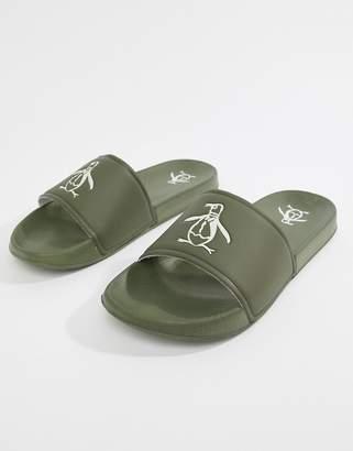 Original Penguin Slider Flip Flops