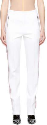 Misbhv White Extacy Track Pants