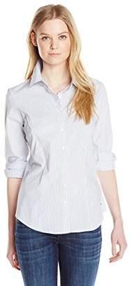 Dockers Women's Ideal Stretch Shirt $17.56 thestylecure.com