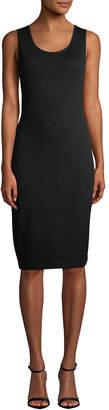 St. John Santana Knit Sleeveless Dress