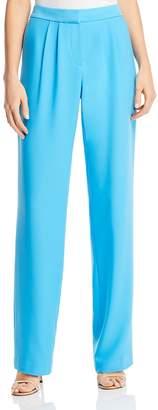 Frame High-Waist Wide-Leg Pants