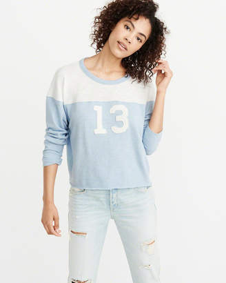 Abercrombie & Fitch Graphic Football Tee