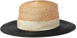 Ralph Lauren Straw Boater Hat
