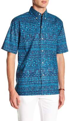 Reyn Spooner Sailing Channel Printed Classic Fit Shirt