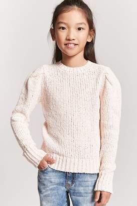 Forever 21 Girls Open Knit Sweater (Kids)