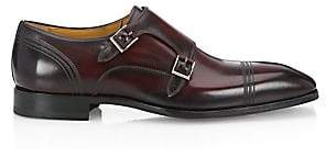 Saks Fifth Avenue BY MAGNANNI Double Monk Strap Derby Shoes