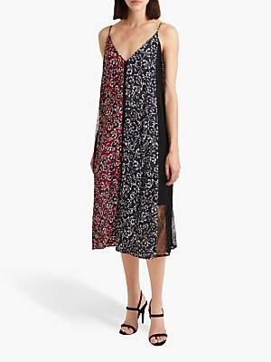 dbc8cc9fff French Connection Amerie Lace Floral Mix Cami Dress