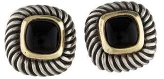 David Yurman Onyx Albion Earrings
