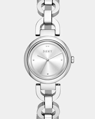 DKNY Eastside Silver-Tone Analogue Watch