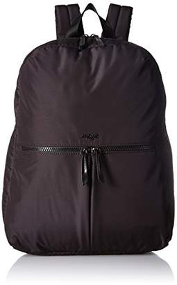 Knomo 129 Pump Blk Dalston Berlin Large Backpack for Laptops up to 14 inch Black