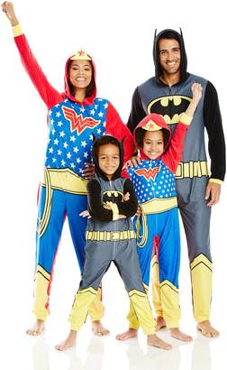 Justice League DC Comics Little Boys' DC Comics Family Cosplay Union Suit