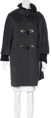 Cinzia Rocca Wool Knee-Length Coat
