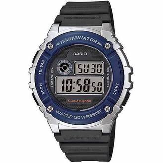 Casio Men's Digital Watch, Grey Resin Strap