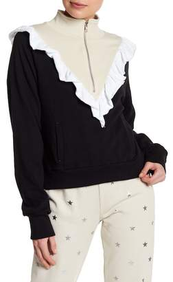 Wildfox Couture Prima Ruffle Warm-Up Jacket
