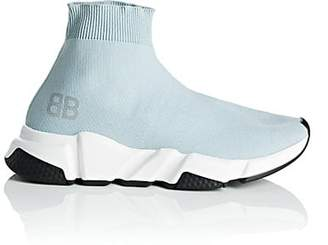 Balenciaga Women's Speed Knit Sneakers - Gray