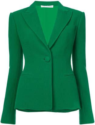 Oscar de la Renta fitted suit blazer