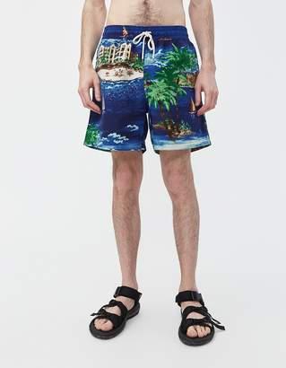 565c0a5095 Polo Ralph Lauren Traveler Swim Short in Havana Oceanside