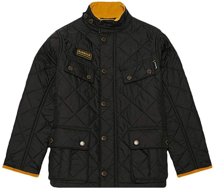 Boys International Quilted Ariel Jacket