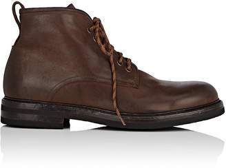 Antonio Maurizi MEN'S BURNISHED LEATHER HIKING BOOTS