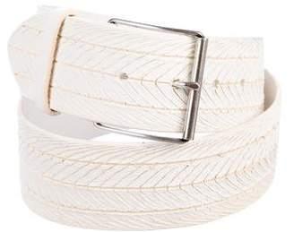 IRO Leather Buckle Belt