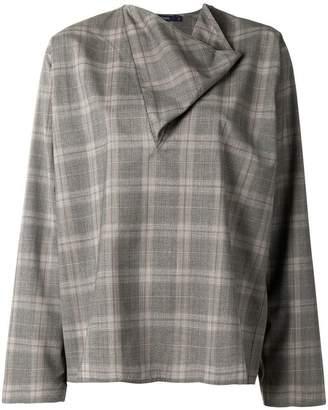Sofie D'hoore v-cowl neck blouse