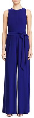 Lauren Ralph Lauren Belted Jumpsuit $129 thestylecure.com