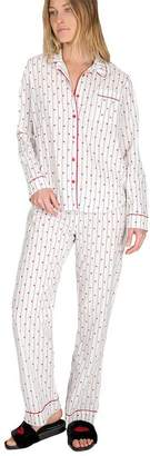PJ Salvage AMOUR PJ SET - IVORY - EXTRA SMALL