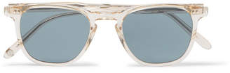 Garrett Leight California Optical Brooks 47 D-Frame Acetate Polarised Sunglasses