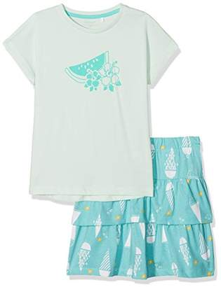 Name It Girl's Nkfvegas Capsl K Clothing Set,(Manufacturer Size: -128)
