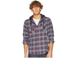 RVCA Good Hombre Hooded Flannel