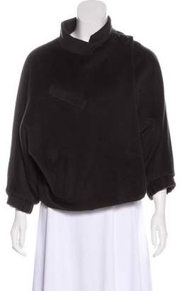 3.1 Phillip Lim Mock Neck Crop Jacket