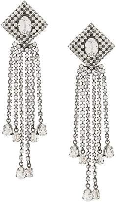 Christopher Kane crystal rain earrings