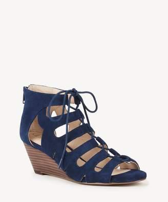 Sole Society Freyaa lace up wedge sandal