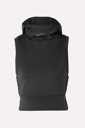Nike Tech Pack 2.0 Stretch-jersey Hoodie - Black