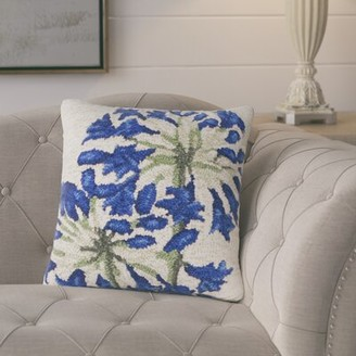 August Grove Ismay Lily Indoor/Outdoor Throw Pillow August Grove