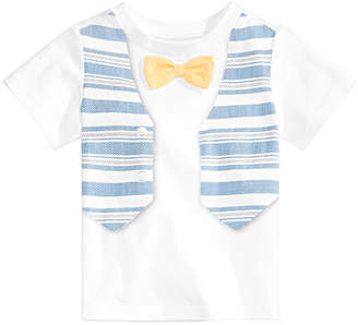 First Impressions Baby Boys Vest Graphic T-Shirt