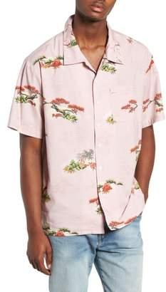Brixton Lovitz Print Woven Shirt