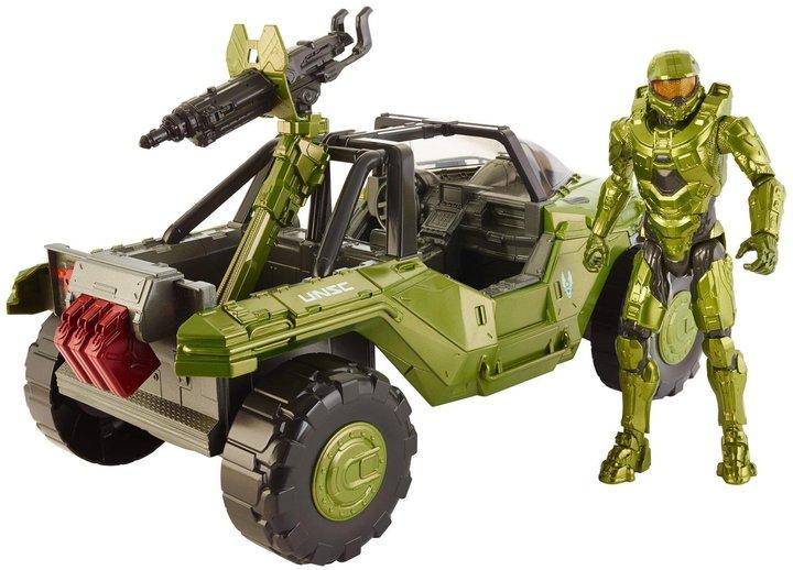 """Halo Warthog 12"""" Figure Vehicle"""