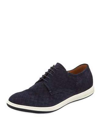 Giorgio Armani Napier Textured Derby Shoe