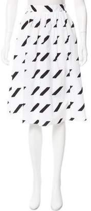Tanya Taylor Gwen Striped Skirt