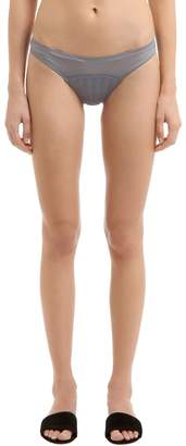 Stella McCartney Underwear Cherie Sneezing Silk Briefs